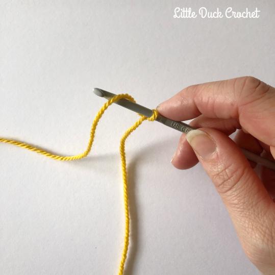 little duck crochet-3
