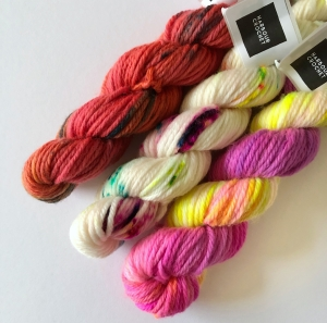 Hand Dyed Mini's
