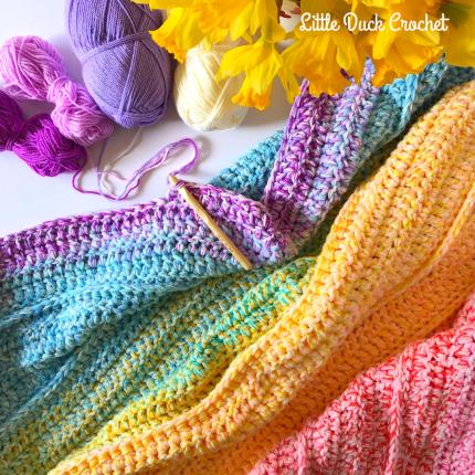 little duck crochet-5